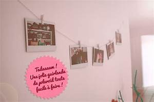 Fil Accroche Photo : diy guirlande de photo polaroids poulette magique ~ Premium-room.com Idées de Décoration