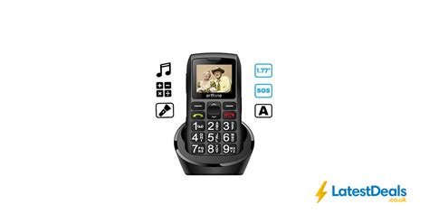 Big Button Mobile Phone for Elderly, Artfone C1+ Dual SIM ...