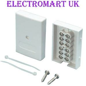Wiring Telephone Extension Junction Box by Bt Telephone Alarm Cable Junction Box Easy Fit