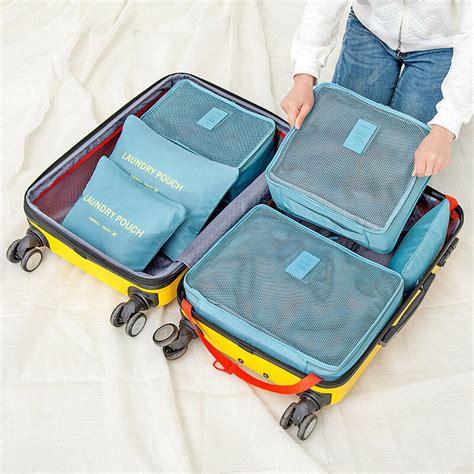 Honana hn-tb8 6pcs waterproof travel storage bags packing ...