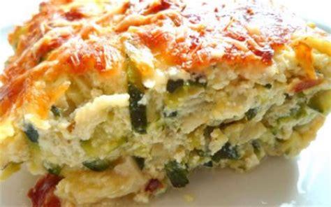 plats simples à cuisiner recette gratin de courgettes au curry facile 750g