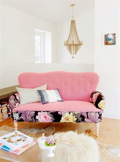 pink settee best 25 floral sofa ideas on floral