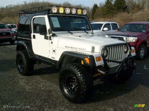 jeep rubicon white interior 2005 stone white jeep wrangler rubicon 4x4 43339782