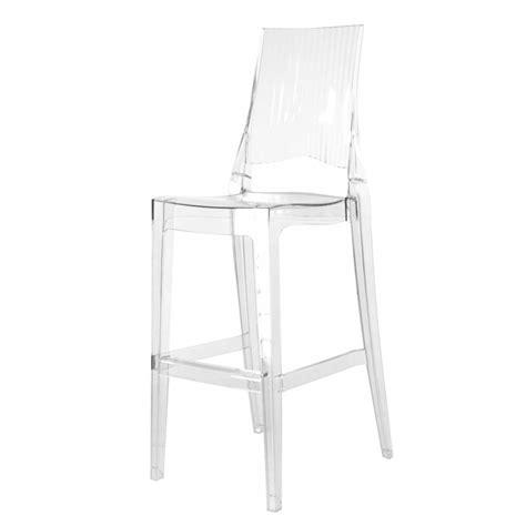 chaise de bar transparente chaise bar transparente