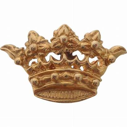 Crown Tie Lapel Rare