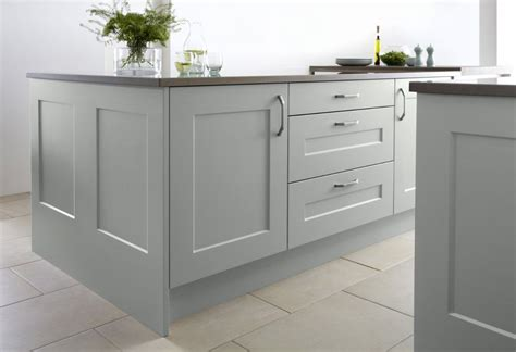 kitchen cabinet end panels burbidge s stowe kitchen in soft moss island and drawers