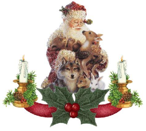 animated christmas animals