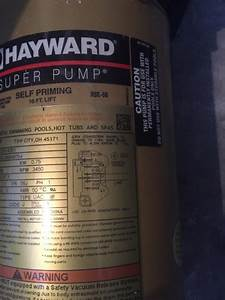 Hayward Super Pump 1 Horse