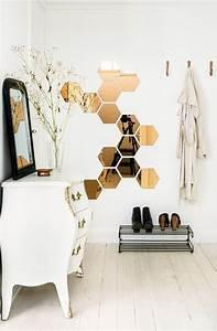Miroir Cuivre Rose : les 25 meilleures id es de la cat gorie miroir hexagonal sur pinterest miroir hexagonal en ~ Melissatoandfro.com Idées de Décoration