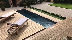 Mobile Terrasse Pool : terrasse mobile coulissante de piscine un rolling deck en un module ouverture lat ral youtube ~ Sanjose-hotels-ca.com Haus und Dekorationen