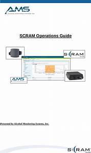 Alcohol Monitoring Systems Sm03 Scram X Base Station User