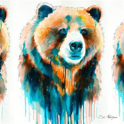 Coffee treat bear is a wall art for coffee lovers. Grizzly bear Coffee Mug by Slaveika Aladjova - 11 oz ...