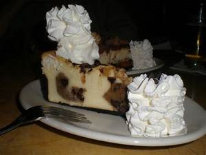 Chocolate Chip Cookie Dough Cheesecake - Picture of The ...