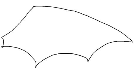 bat wing template our crafts costumes for soft toys yes really bostikblogger littlestuff