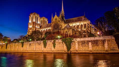 Fondos De Pantalla 3840x2160 Francia Templo Ríos Catedral