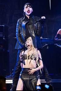 Johnny Depp Performing With Marilyn Manson Pictures ...