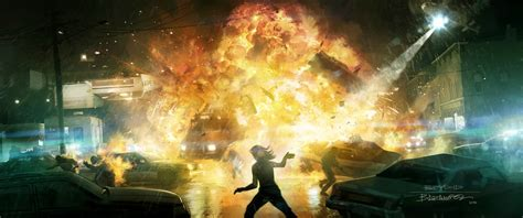 Explosion | Video Games Artwork
