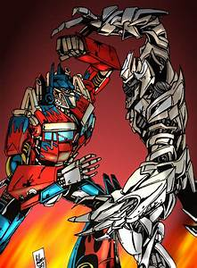 Movie Optimus vs Megatron by PowermasterJazz on DeviantArt