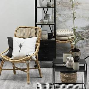 des meubles en rotin dans la deco contemporaine With deco cuisine avec chaise osier