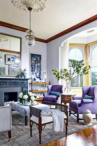 39, Colorful, And, Purple, Living, Room, Design, Ideas, In, This
