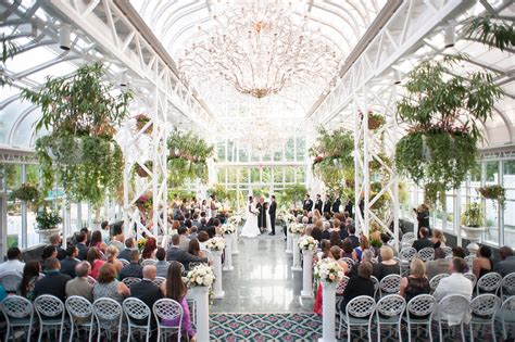 the conservatory at the hotel summer wedding