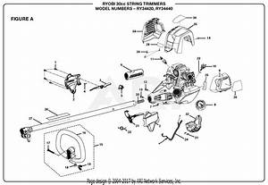 Homelite Ry34440 30cc String Trimmer Parts Diagram For Figure A