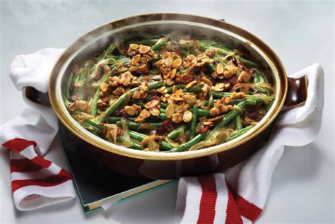 green bean casserole  bacon almonds keeprecipes