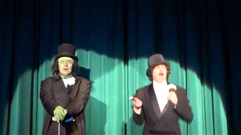 The musical music by mark baron, book and lyrics by jeffrey jackson, original story adaptation with earnest ballads and soaring ensemble numbers, this compelling musical brings the suspense and romance of the classic tale to life in a uniquely faithful. Young Frankenstein Musical - Puttin' On the Ritz - YouTube