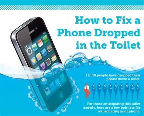 how to if your phone has been infographic how to fix a phone that has been dropped in a