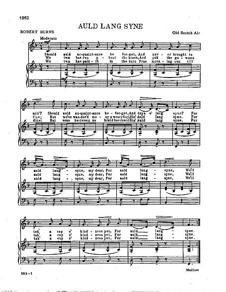 valzer delle candele spartito auld lang syne voce pianoforte spartiti cantorion