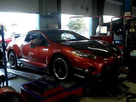 Souped Up Mitsubishi Eclipse by 2007 Mitsubishi Eclipse Gs T