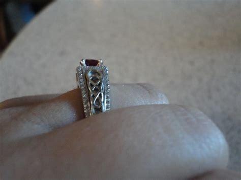 non diamond engagement rings weddingbee page 8