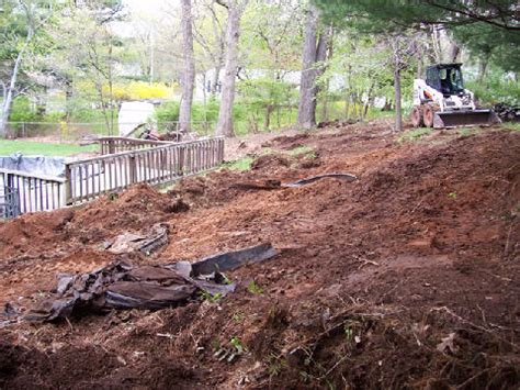 regrading backyard backyard regrading country landscaping llc