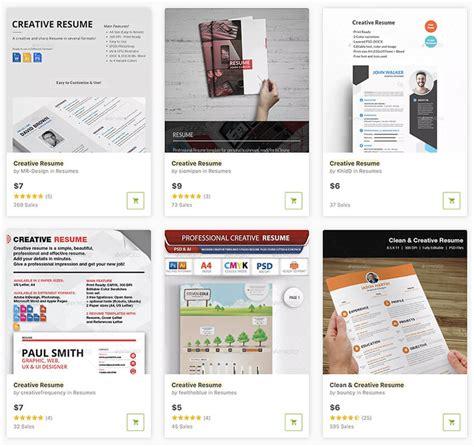 top visual resume templates  artists creatives
