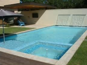 Design Ideas. Contemporary Pools In Backyard Garden Design