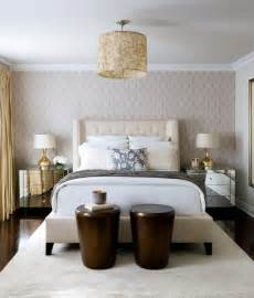 tufted wingback headboard contemporary bedroom toronto interior design