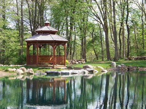 landscape gazebo gazebo design ideas landscaping network