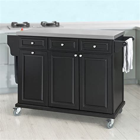 sobuy 174 fkw33 sch plan de travail de luxe desserte sur roulettes meuble chariot de cuisine