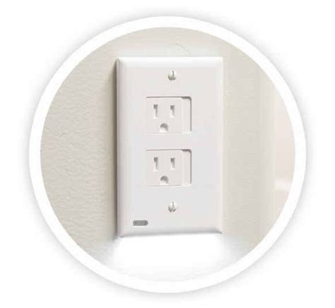 outlet plate night light snappower releases safelight outlet cover night light