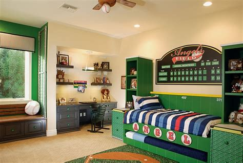 boys sports bedroom ideas wall murals decals sports themed interiors