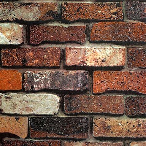faux brick wallpaper amazoncom
