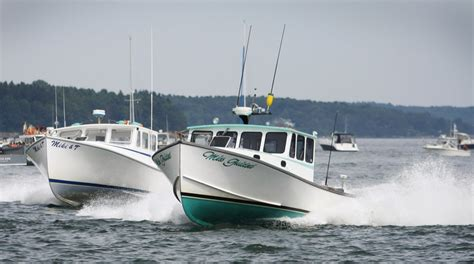 Rock The Boat Portland by Photos Lobster Boats Rock In Harbor Races Portland