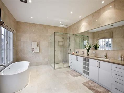 modern bathroom design with freestanding bath chrome bathroom photo 245818