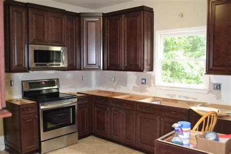 Shenandoah Kitchen Cabinets by Mckinley Cherry In Bordeaux Finish From Shenandoah