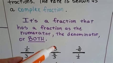 grade  math  part unit rates  complex
