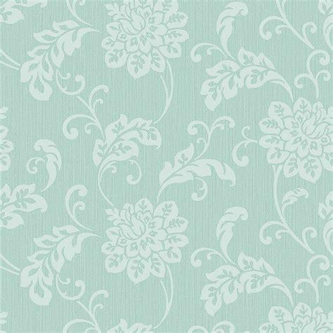 fine decor burlington floral wallpaper mint fd