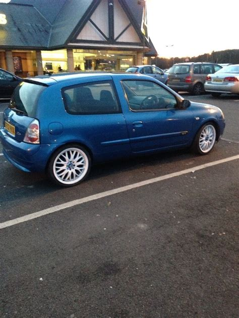 Renault Clio 2002 by Renault Clio 2002 1 2 Custom In Corby Northtonshire