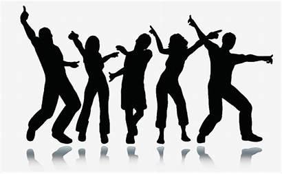 Dance Silhouette Clipart Dancing Clip Transparent Stickers
