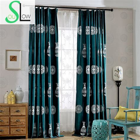 popular green velvet curtains buy cheap green velvet