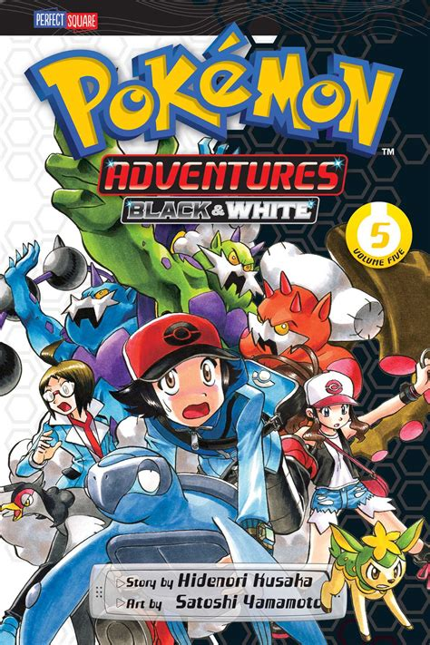 pokemon adventures black  white vol  book